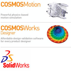 Catek is proud to use SolidWorks software